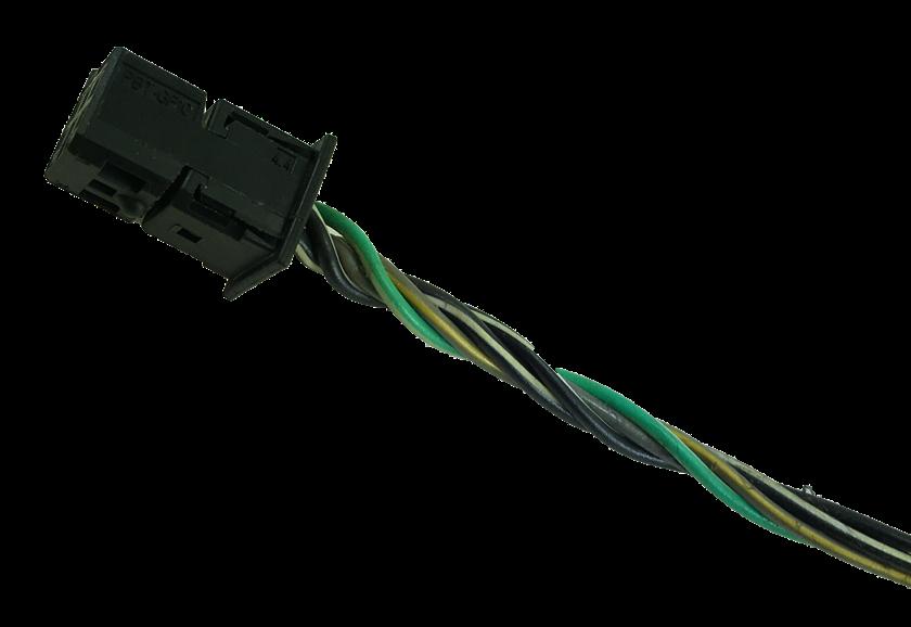 Plug Conector Chicote 6 Vias 5 Fios do Botão do Painel Interruptor de Pisca Alerta Luz de Emergência Com Led Alarme 52046393 52046394 94704614 10035543 Prisma Onix 011 012 013 014 015 016