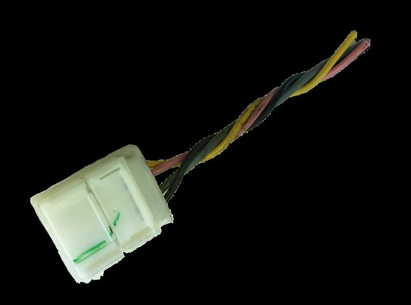 Plug Chicote Conector Do Botão Do Pisca Alerta New Fit 09 010 011 012 013 014
