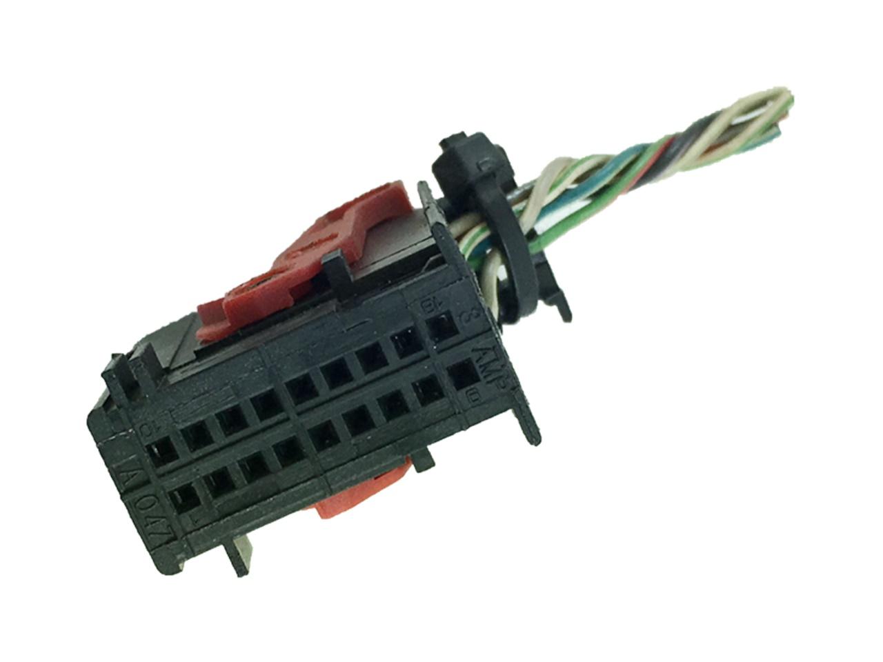 Plug Conector Chicote do Conjunto de Botão de Alerta e Desembaçador Fiat Punto Linea 08 09 010 011 012 Palio Idea G3 03 04 05 06 07 08