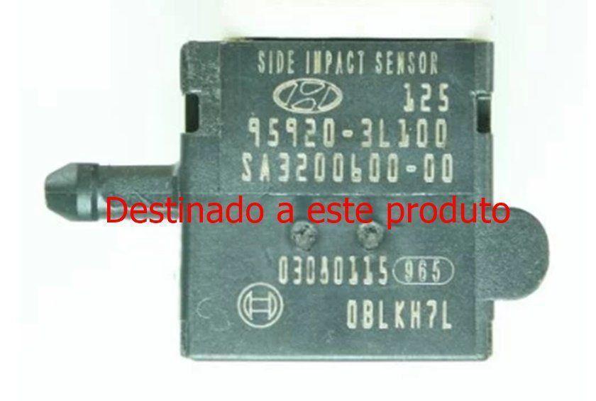 Plug Conector Chicote do Sensor De Detonação Impacto Colisão Frontal do Air Bag sa320060000 959203l100 Hyundai Azera 07 08 09 010 011