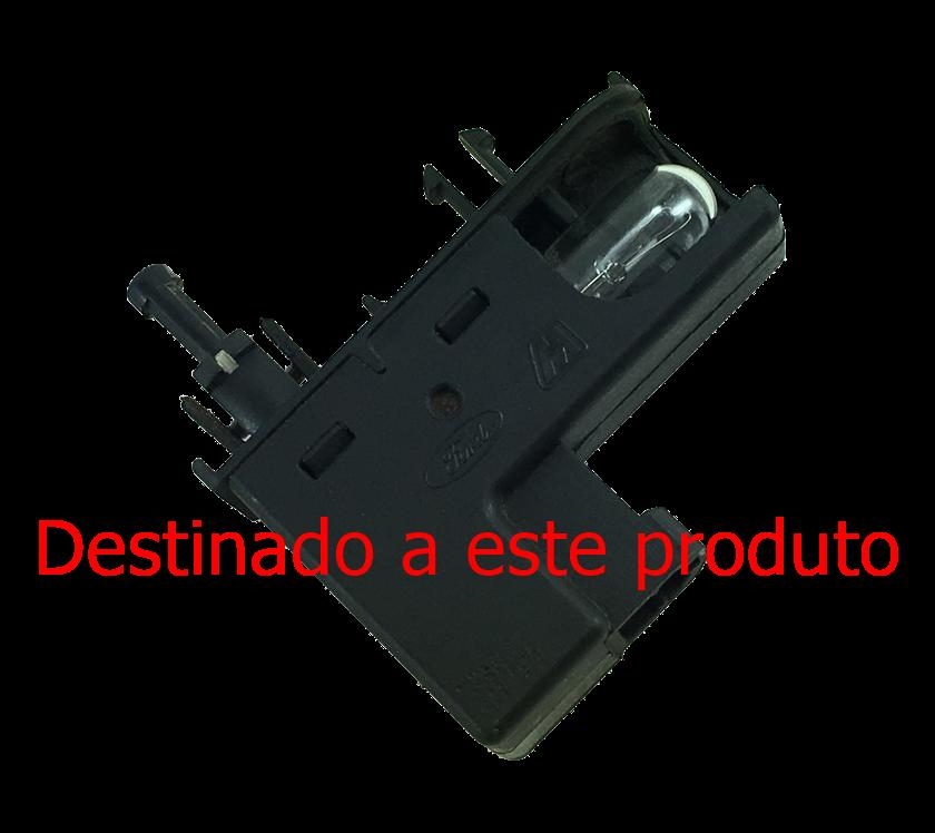 Plug Da Lampada Do Porta Luvas Ford New Fiesta Mexicano 2010 a 2012