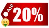 Outubro - Até 20% OFF..
