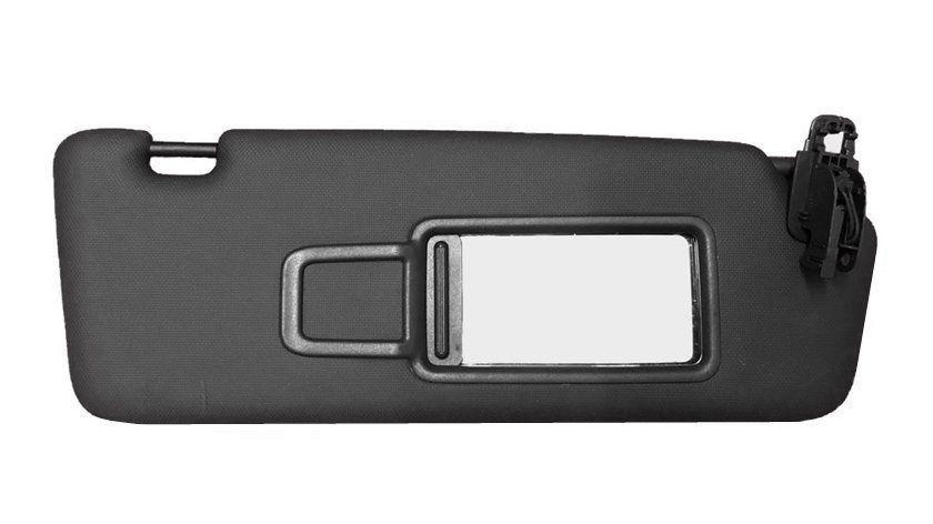 Quebra Sol Direito Passageiro Preto com Espelho 8v0857552 Audi A3 Sportback 012 013 014 015