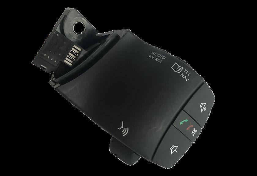 Comando Controle De Som Telefone do Volante Original EN25550JY01B Renault Fluence 012 013 014 015 016