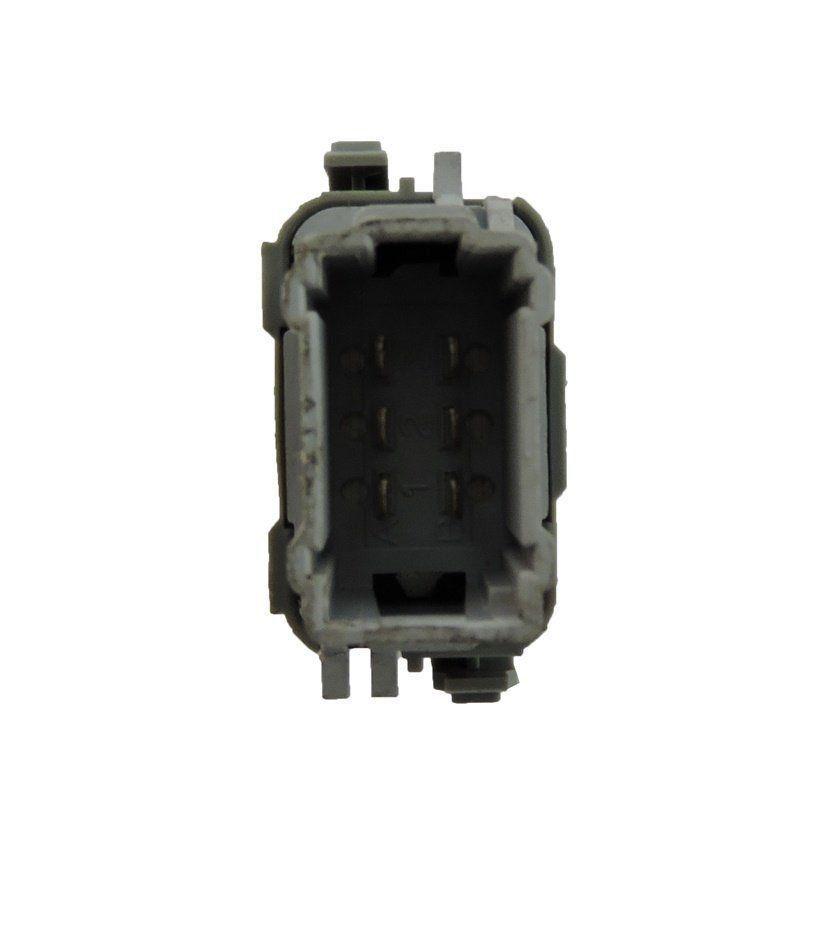 Renault Megane 06 010 Botão D Vidro Diant Direito Plug Cinza