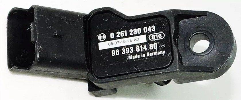 Sensor De Pressão Map Citroen C3 Picasso Peugeot 206 207 306 307 0261230043 9639381480