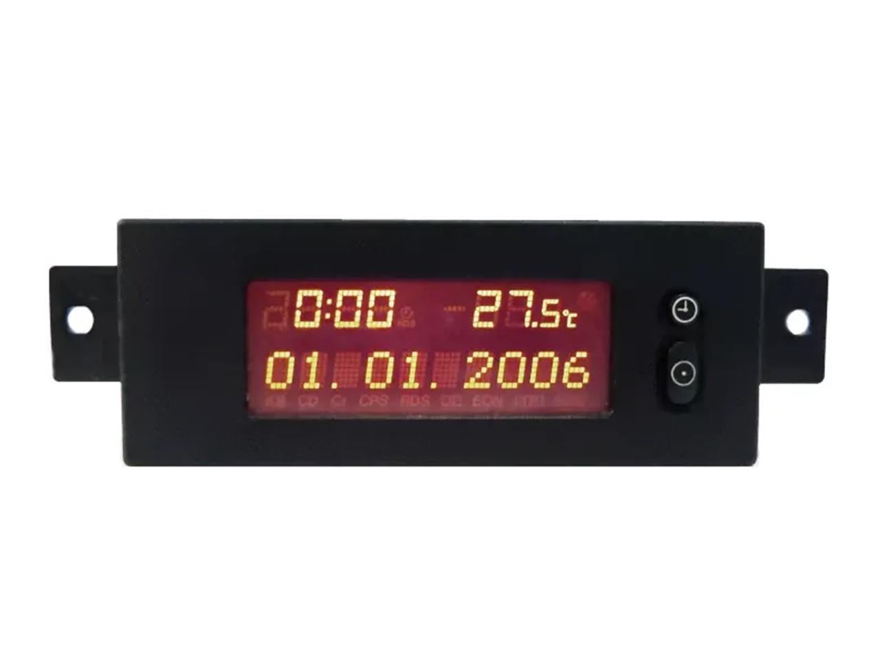 Tid Visor Relogio Digital do Painel Marcador de Hora Data Temperatura a2c53141118 093353585 Gm Vectra 06 07 08 09 010 011 Astra 99 00 01 02 03 04 05 06 07 08 09 010 011 012