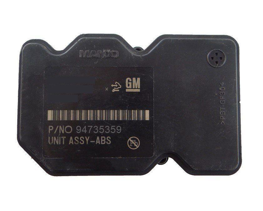 Unidade Hidraulica Bomba Modulo Central Centralina De Freio Abs 94735359 Amz 5wy7d04c Gm Spin 013 014 015