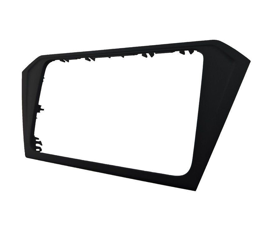 Moldura Central do Painel Multimídia Preto Original 5u0858061e Vw Gol Voyage Saveiro G7 015 016 017 018 019 020
