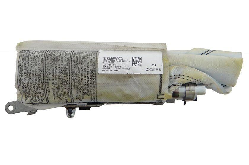 Vw Jetta 011 015 Bolsa Air Bag D Banco Motorista 5C0880241