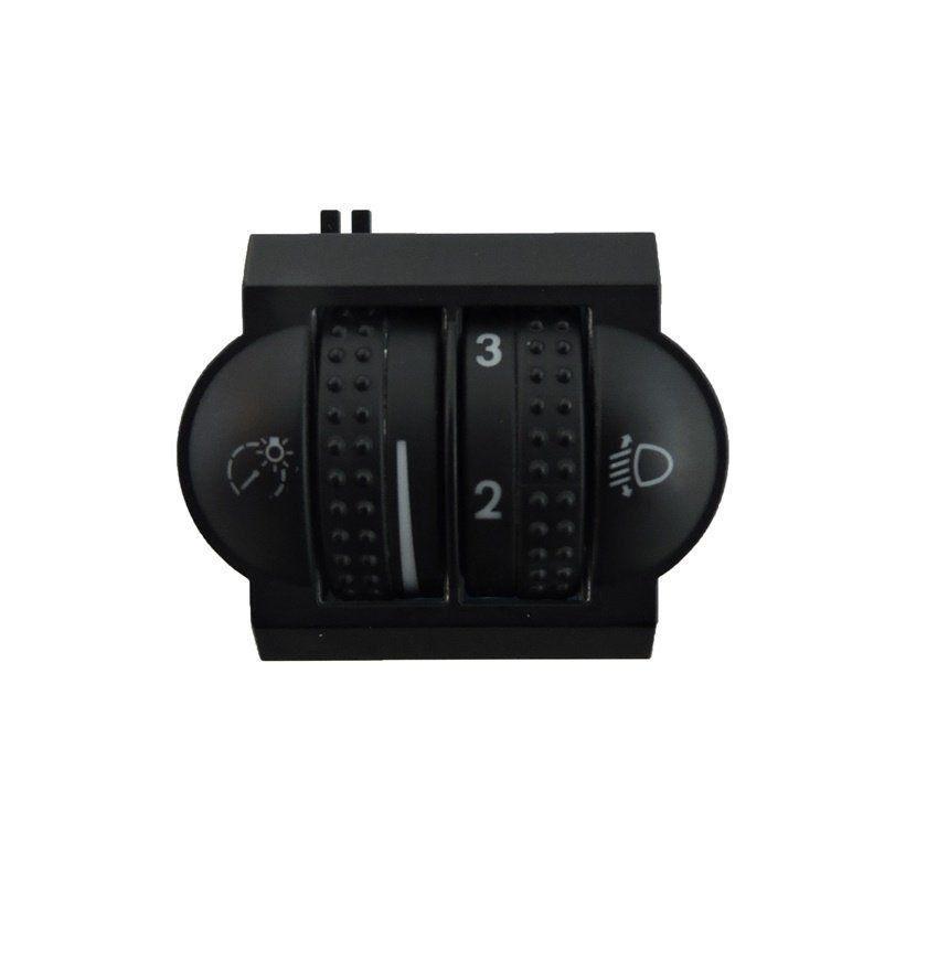 Vw Touareg 04 10 Botão Reostato Regulagem D Farol 7L6941333F