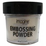 Pó para Emboss Embossing Power - Cor White - Imagine Crafts
