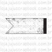 Carimbo Modelo Bandeirinha Vintage - Coleção Família para Sempre / JuJu Scrapbook