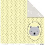 Papel Modelo Sonho Colorido - Coleção Sonhos nos Alpes / Juju Scrapbook