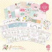 Coleção Paraíso Tropical by Babi Kind - JuJuScrapBOX / JuJu Scrapbook