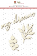 """Coleção Shabby Dreams by Babi Kind - Cartela de Enfeite """"My Dreams"""" / JuJu Scrapbook"""