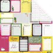 Papel Modelo Organização é Tudo - Coleção Todo Momento Importa / JuJu Scrapbook