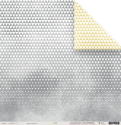 Papel Triangulinhos - Coleção Toda Básica / JuJu Scrapbook