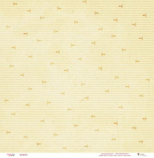 Papel Modelo Recortes - Coleção Love Scrap / Juju Scrapbook  - JuJu Scrapbook