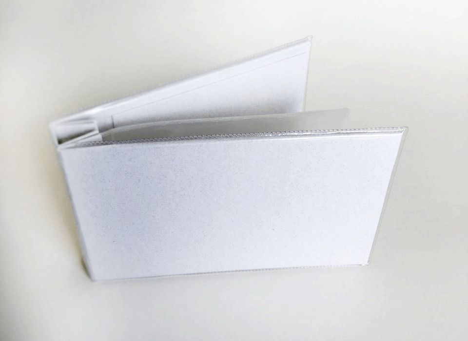 Álbum 19 cm X 11,5 cm Branco - Paperchase  - JuJu Scrapbook