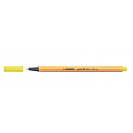 Caneta Stabilo Point 88 - Cor Amarelo Neon (024) | Stabilo  - JuJu Scrapbook