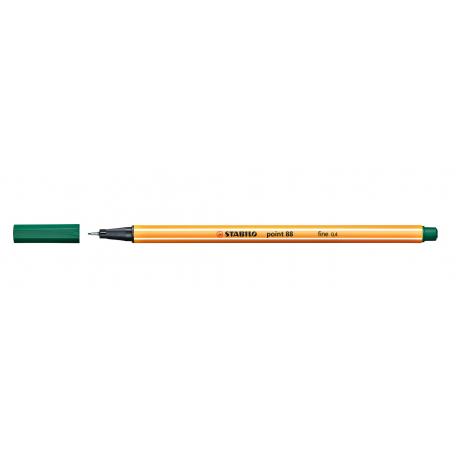 Caneta Stabilo Point 88 - Cor Verde Esmeralda (63) | Stabilo  - JuJu Scrapbook