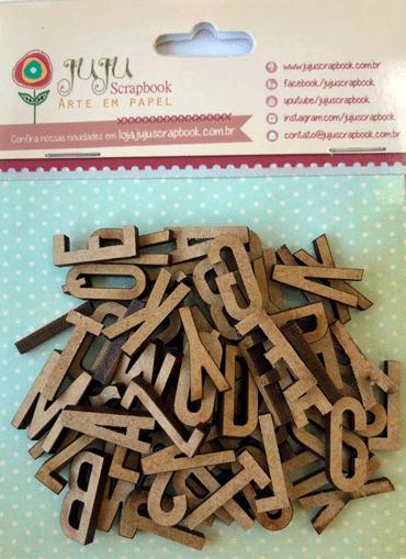 Cartela de Enfeites Modelo Sopa de Letrinhas - Coleção Todo Momento Importa / JuJu Scrapbook  - JuJu Scrapbook