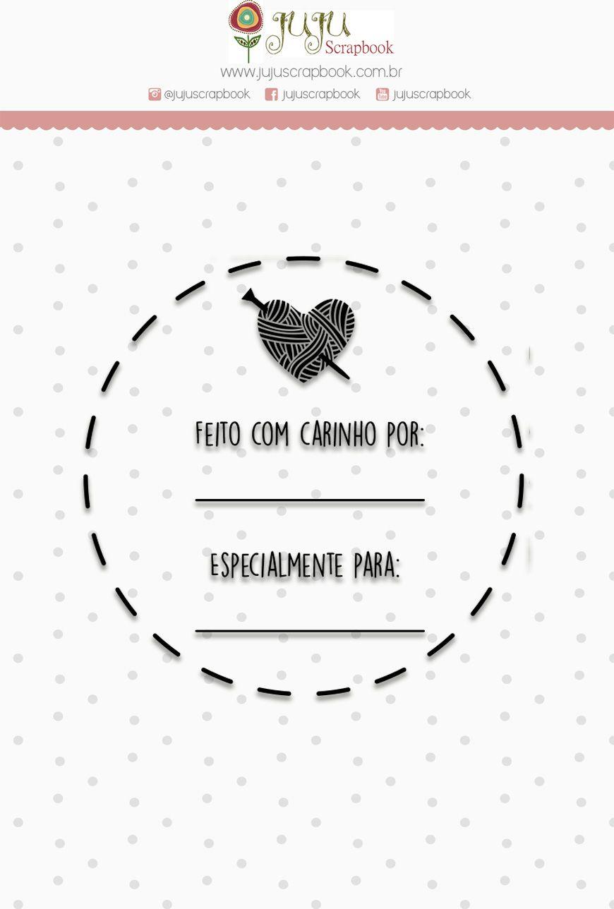 "Coleção Love Scrap - Carimbo M ""Especial"" / JuJu Scrapbook  - JuJu Scrapbook"