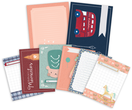 """Kit de Cards """"Melhores Momentos"""" - Coleção Mundo Mágico / JuJu Scrapbook  - JuJu Scrapbook"""