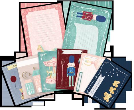 "Kit de Cards ""Soldadinho"" - Coleção Mundo Mágico / JuJu Scrapbook  - JuJu Scrapbook"