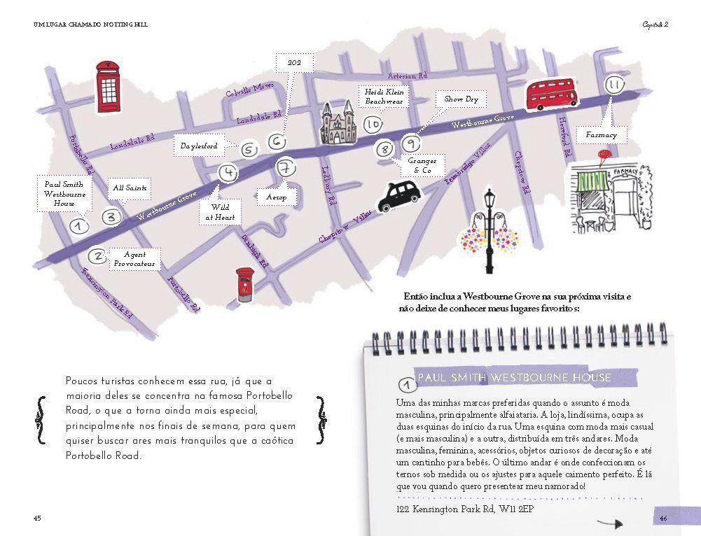 Livro Flores em Notting Hill. Dez anos, dez capítulos, em dez cores / Viviane Lescher  - JuJu Scrapbook
