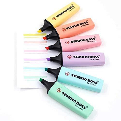Stabilo Boss Original - Cor Azul Pastel   Stabilo  - JuJu Scrapbook