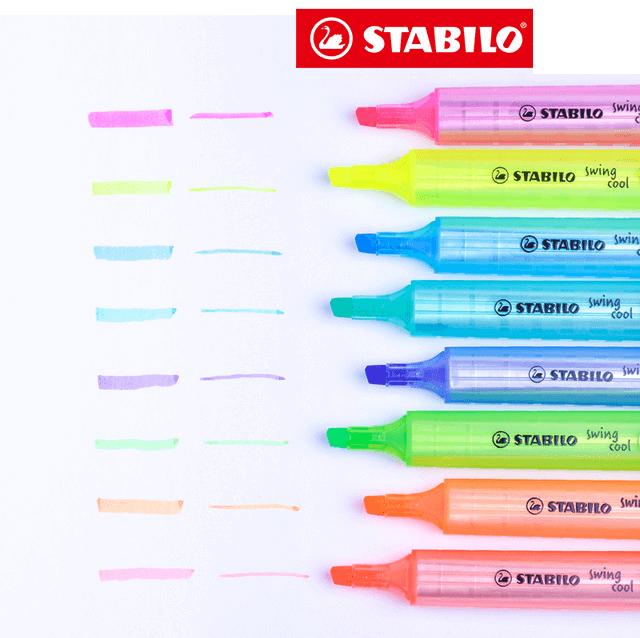 Stabilo Swing Cool - Cor Amarelo | Stabilo  - JuJu Scrapbook