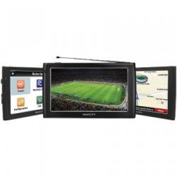 GPS Way 75 Com TV Digital - Tela de 7 LCD Touchscreen - Navcity