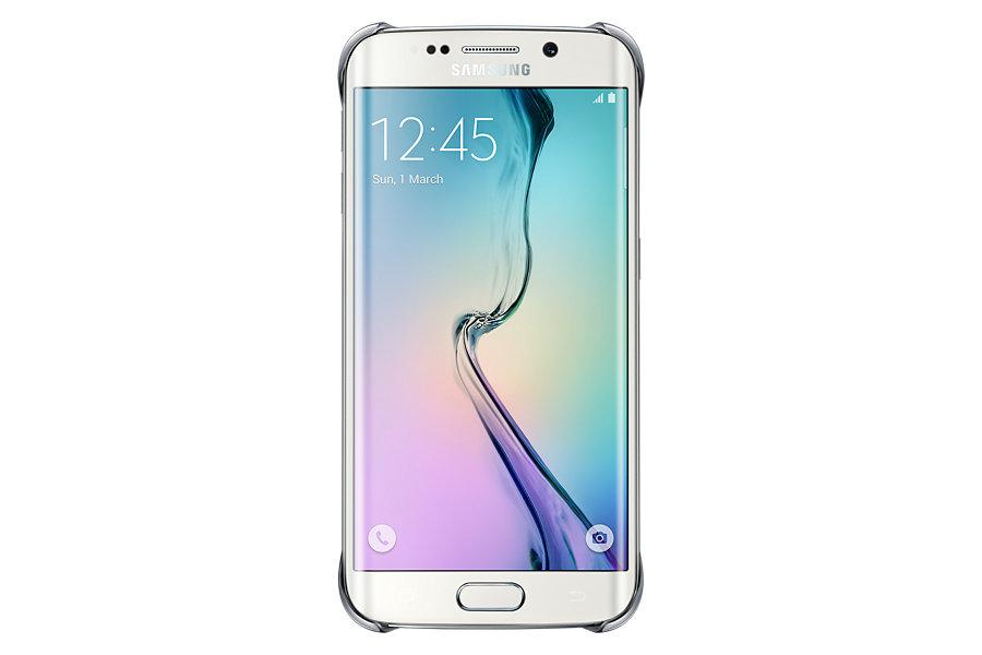 Capa Protetora Galaxy S6 Edge EF-QG925BSEGBR Borda Prata - Samsung