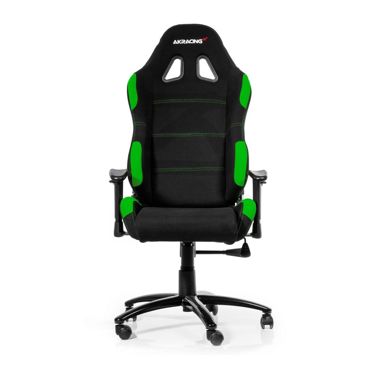 Cadeira AKRacing Gaming AK-K7012-BG Black/Green - AKRacing