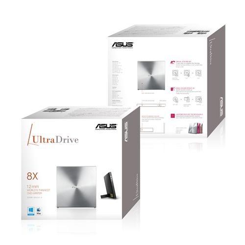 Gravadora de DVD Externo Ultra Drive 8X SDRW-08U5S-U - Asus