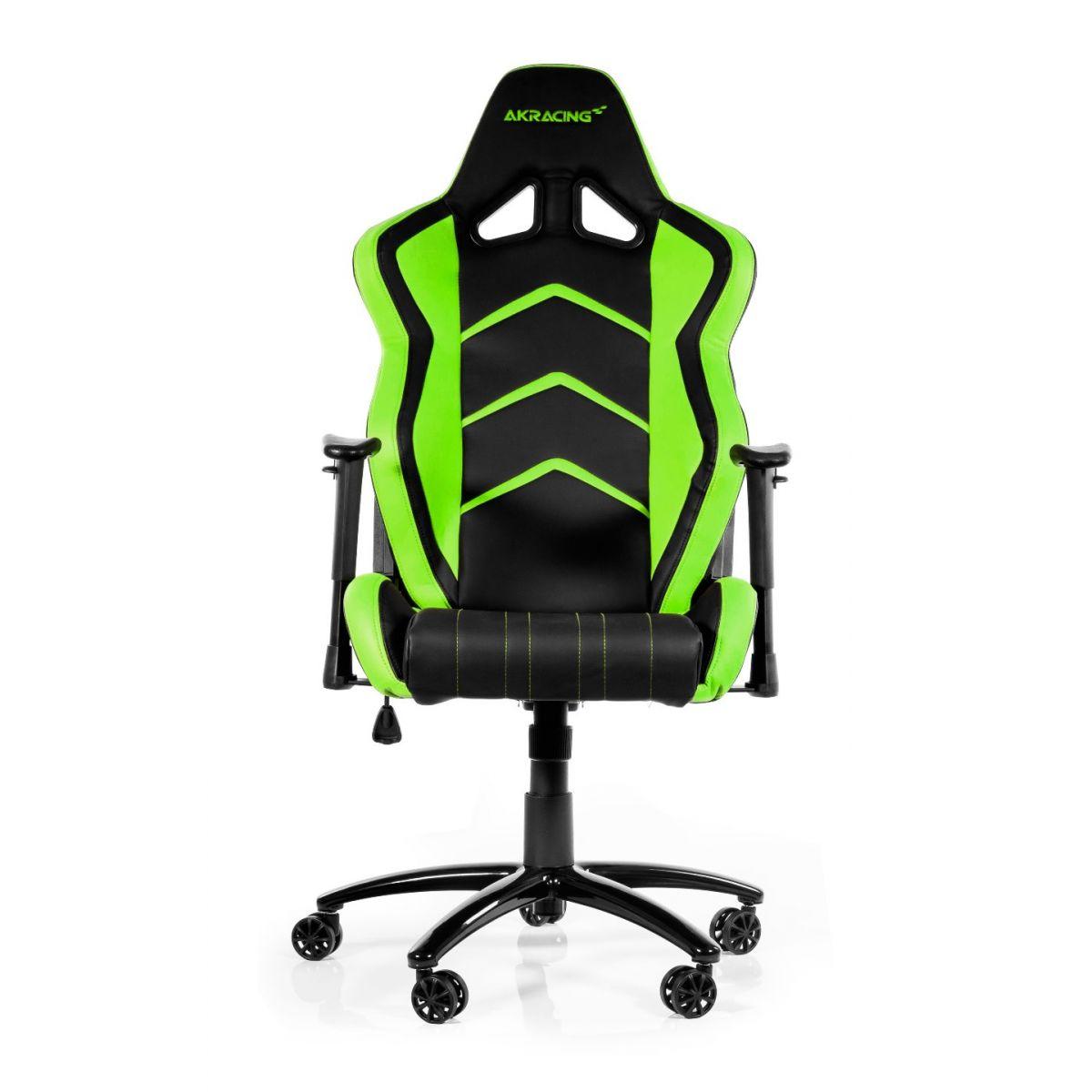 Cadeira AKRacing Player Gaming Black/Green AK-K6014-BG - AKRacing