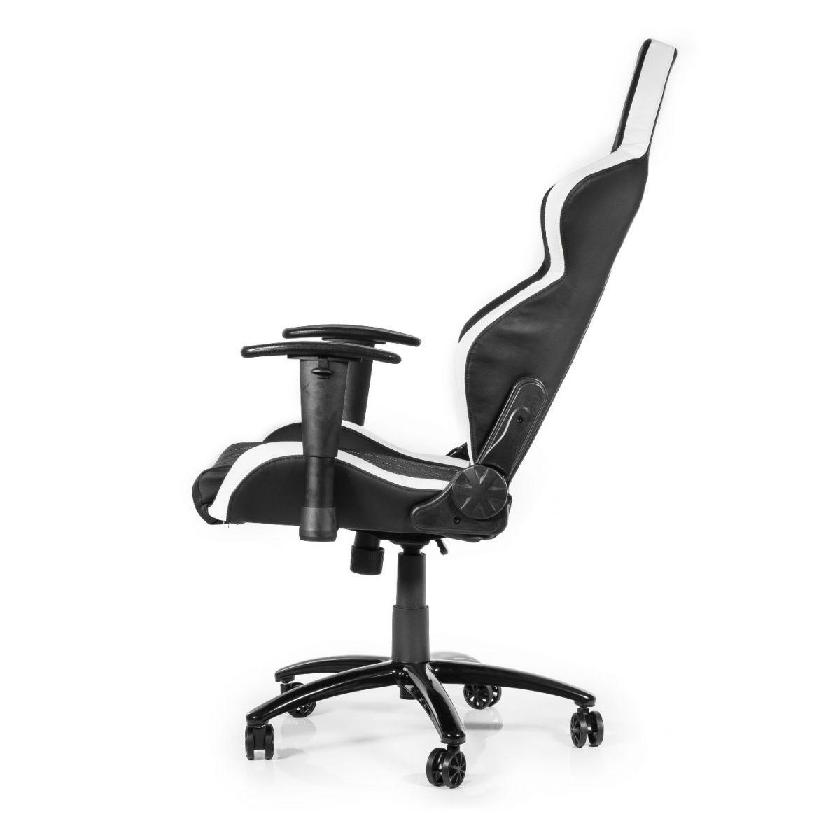 Cadeira AKRacing Player Gaming Black/White AK-K6014-BW - AKRacing