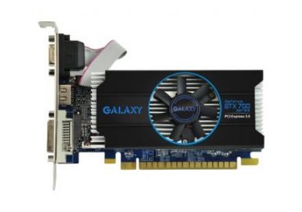 Placa de Vídeo Geforce GTX750 Slim OC 1GB 128Bit 75NGH8HX9KXZ - Galax