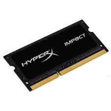 Memória HyperX Impact 4GB 1600Mhz DDR3 P/Notebook HX316LS9IB/4 - Kingston