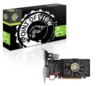 Placa de Vídeo GT730 1GB DDR3 128Bits VGA-730-C5-1024 - Point Of View