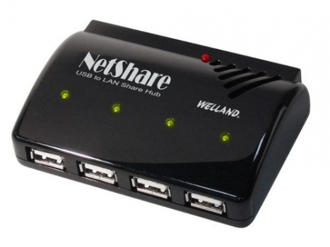 Conversor 4 Portas USB Over IP Server NH-204 (Converte USB para Rede) - Welland