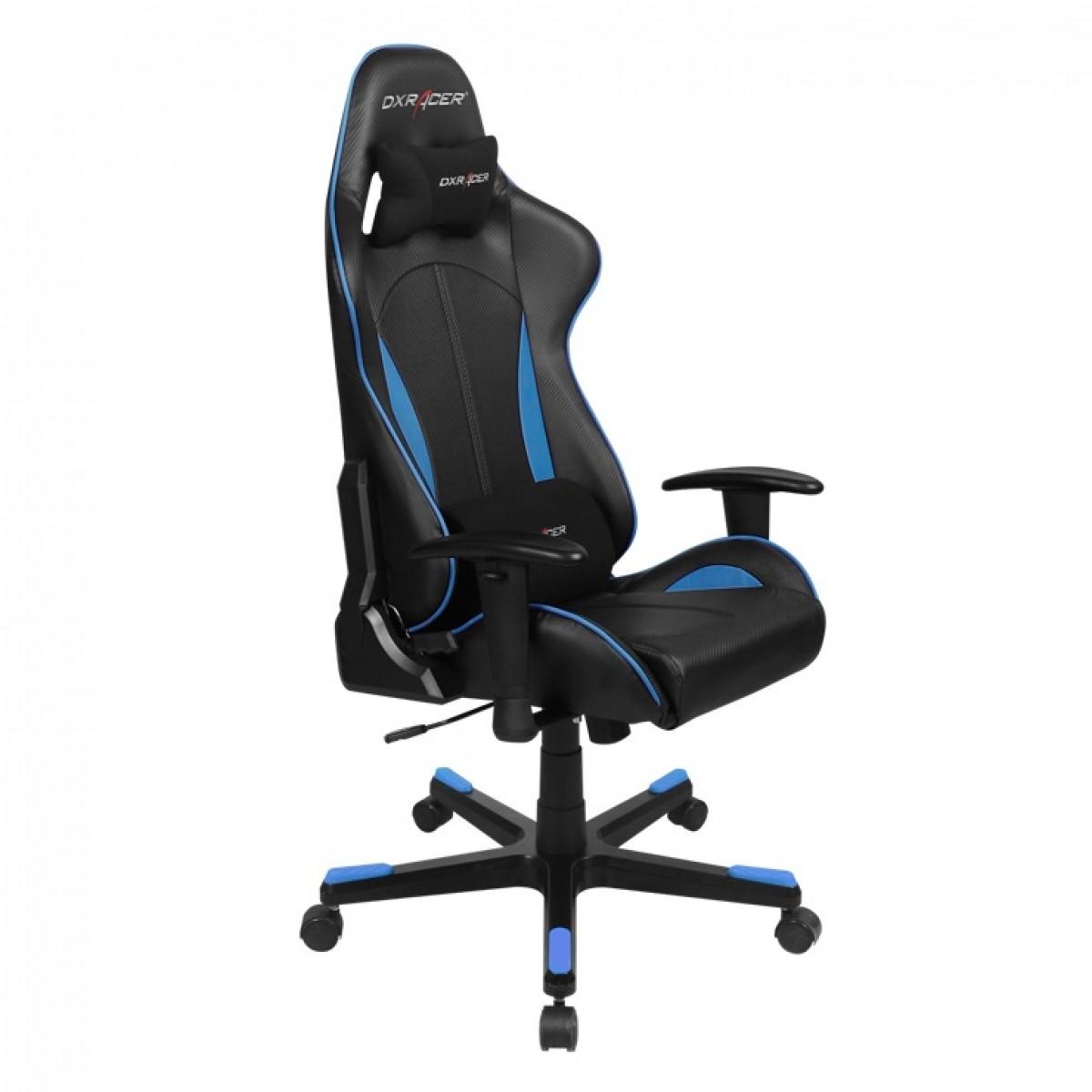Cadeira F-Series OH/FE57/NB Preto/Azul - DXRacer