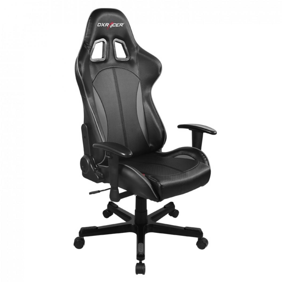 Cadeira F-Series OH/FE57/NG Preto/Cinza - DXRacer