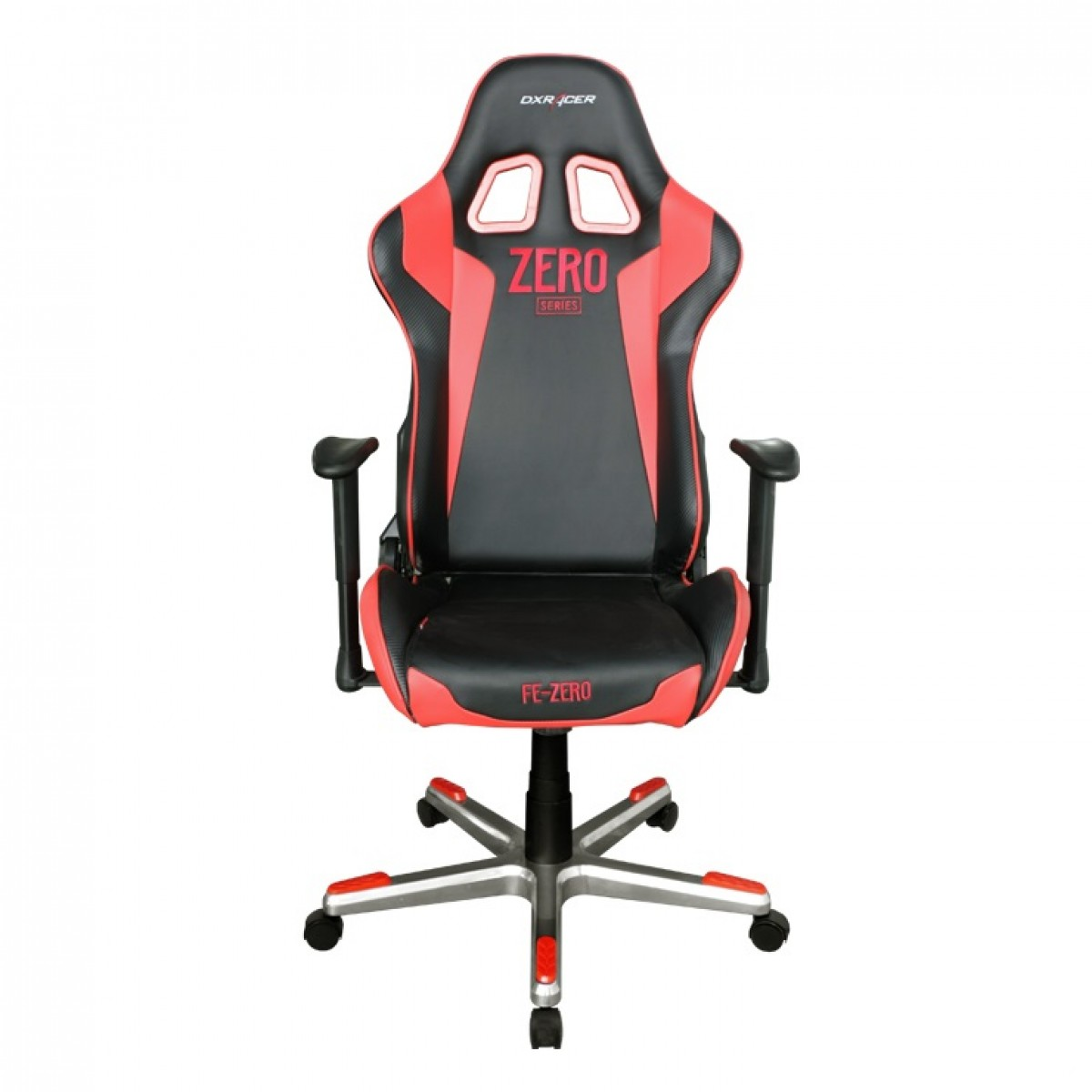 Cadeira F-Series OH/FE00/NR Preto/Vermelho - DXRacer