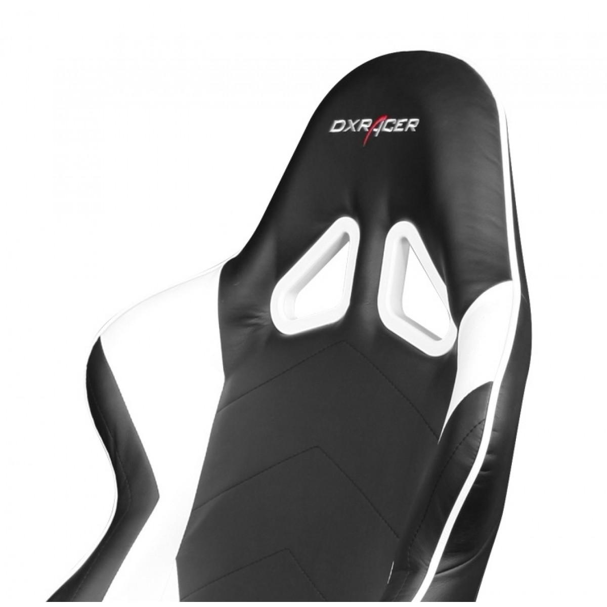 Cadeira R-Series OH/RF00/NW Preto/Branco - DXRacer