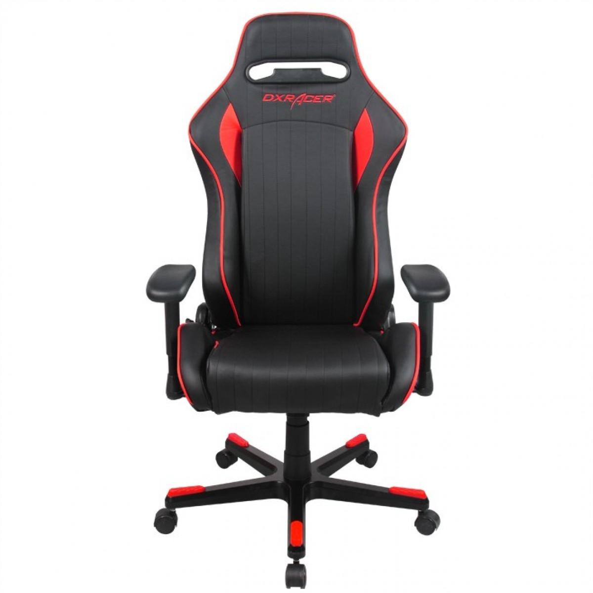 Cadeira D-Series OH/DF51/NR Preto/Vermelho - DXRacer