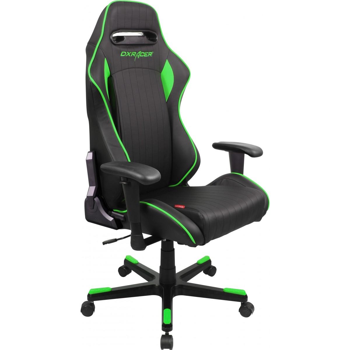 Cadeira D-Series OH/DF51/NE Preto/Verde - DXRacer