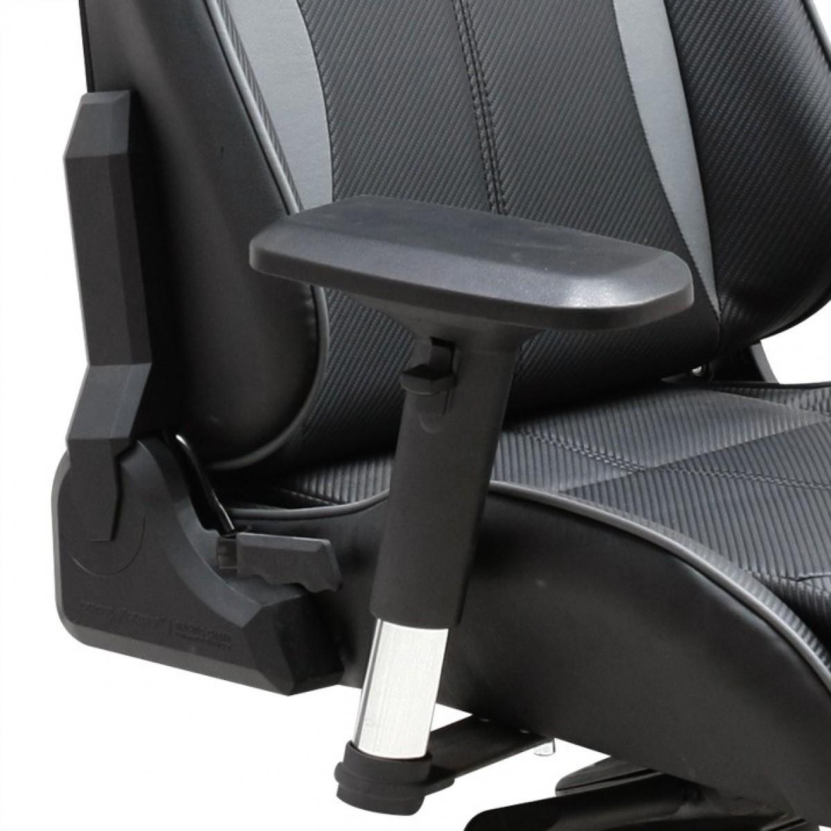 Cadeira K-Series OH/KE57/NG Preto/Cinza - DXRacer